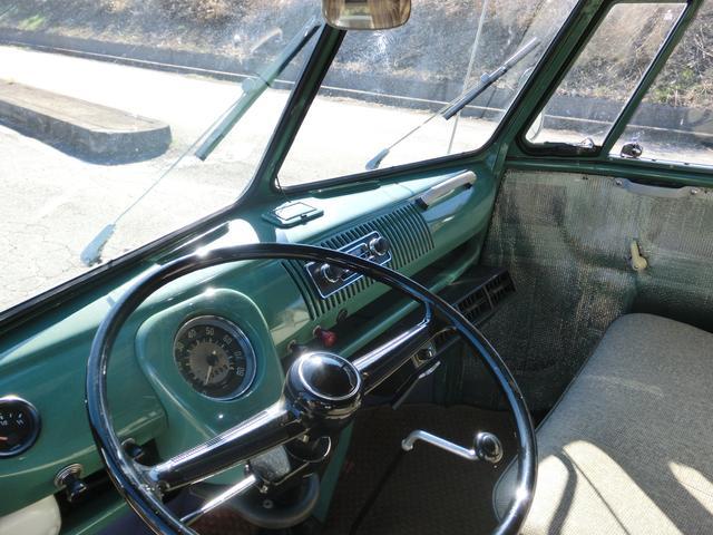 フォルクスワーゲン VW タイプII ウエストファリア クーラー ベバストヒーター ベンチシート