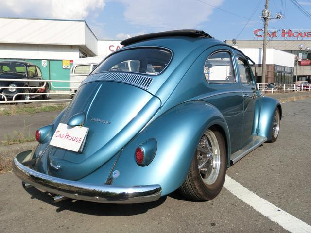 フォルクスワーゲン VW ビートル ラグトップ サファリウインドウ FRローダウン ツインキャブ
