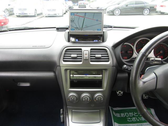 スバル インプレッサ WRX STi ワンオーナー HDDナビ フジツボマフラー