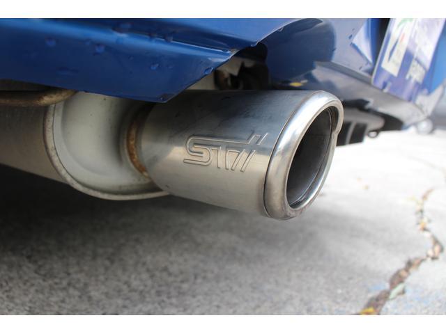 スバル インプレッサ WRX STi 6速MT ブレンボ 大型リアスポイラー