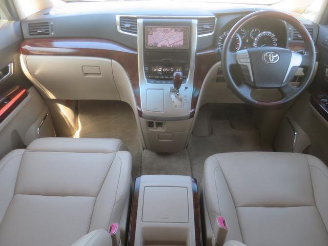 トヨタ ヴェルファイア 3.5V LーED サンルーフ HDDナビ 後席モニター