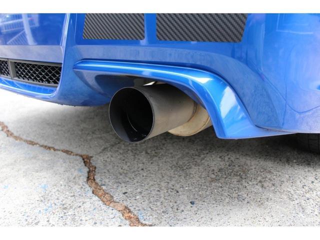 WRX STI tSタイプRA NBRチャレンジP 限定200台 ワンオーナー レカロシート フジツボマフラー GTウィング 強化ラリー用シフト OZレーシング18インチアルミホイール STIリップスポイラー SI-DRIVE(18枚目)