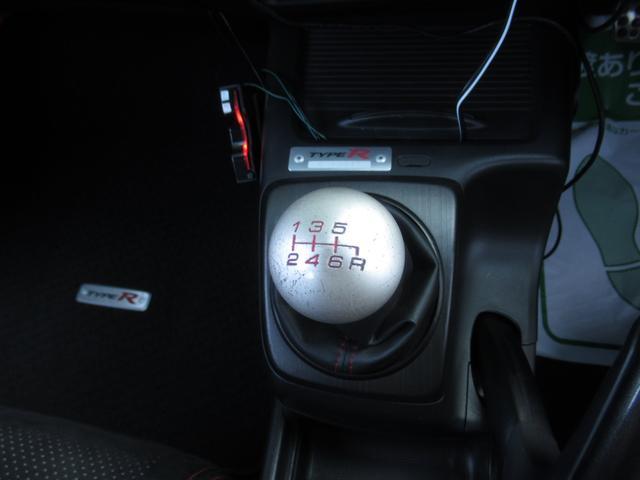 タイプR HDDナビ Defi追加メーター 車高調 ETC(14枚目)