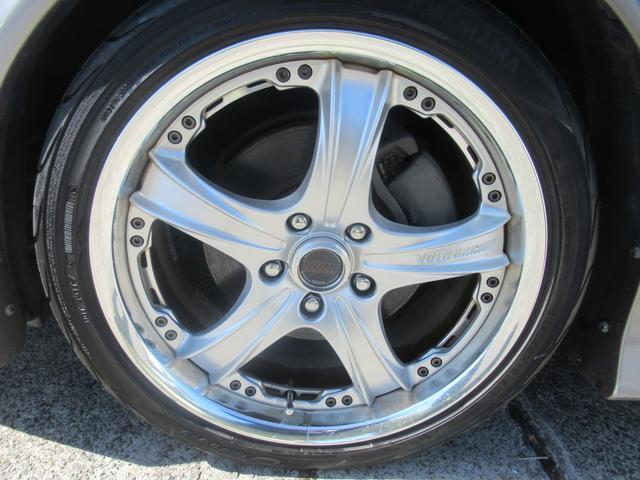 グランデiR-V フォーチュナ 純正5速マニュアル モデリスタエアロ トランクスポイラー アップガレージ15thマフラー ブリッツ車高調 レイズ18インチアルミホイール パワーシート HIDヘッドライト キーレス(43枚目)