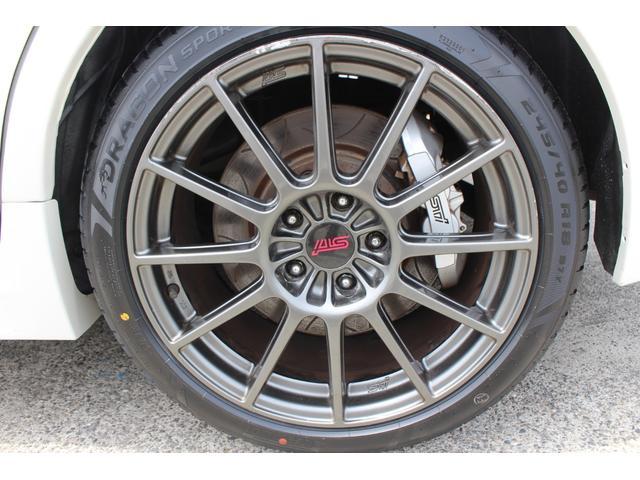 R205 400台限定車 320馬力 専用ボールベアリングターボ 専用チューニングのECU 専用低背圧スポーツマフラー 純正レカロシート STIアンダースポイラー ブレンボキャリパー 新品タイヤ(35枚目)