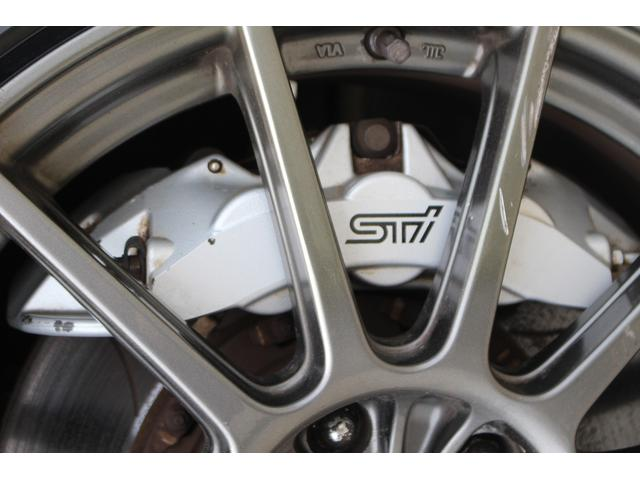 R205 400台限定車 320馬力 専用ボールベアリングターボ 専用チューニングのECU 専用低背圧スポーツマフラー 純正レカロシート STIアンダースポイラー ブレンボキャリパー 新品タイヤ(37枚目)