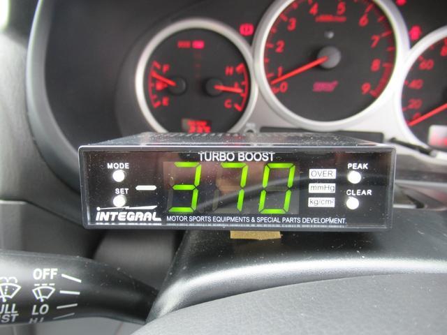 WRX STi E型 記録簿8枚 フジツボマフラー HKSEVC サブコン ブレンボキャリパー 純正17インチアルミ ETC 4WD キーレス ターボ 電動格納ミラー(27枚目)