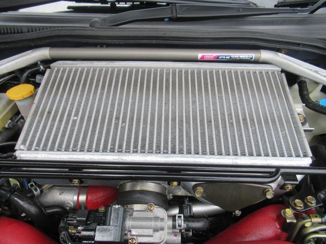 WRX STi E型 記録簿8枚 フジツボマフラー HKSEVC サブコン ブレンボキャリパー 純正17インチアルミ ETC 4WD キーレス ターボ 電動格納ミラー(65枚目)