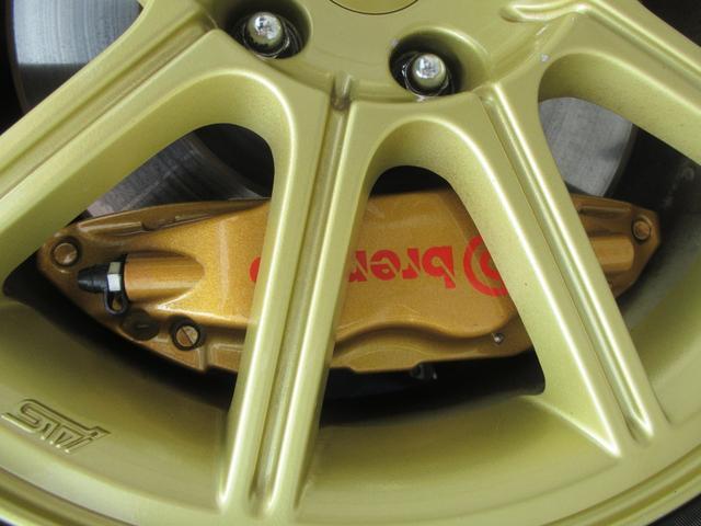 WRX STi E型 記録簿8枚 フジツボマフラー HKSEVC サブコン ブレンボキャリパー 純正17インチアルミ ETC 4WD キーレス ターボ 電動格納ミラー(70枚目)
