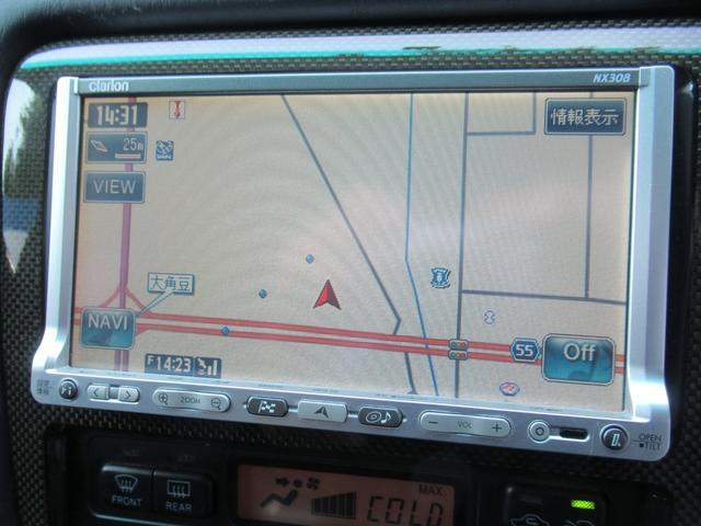 ツアラーV AT車 純正エアロ TEIN車高調 ルーフスポイラー トランクスポイラー アリスト純正17AW レーダー探知機 社外ブースト計 ETC HID メモリーナビ ワンセグ DVD再生(60枚目)