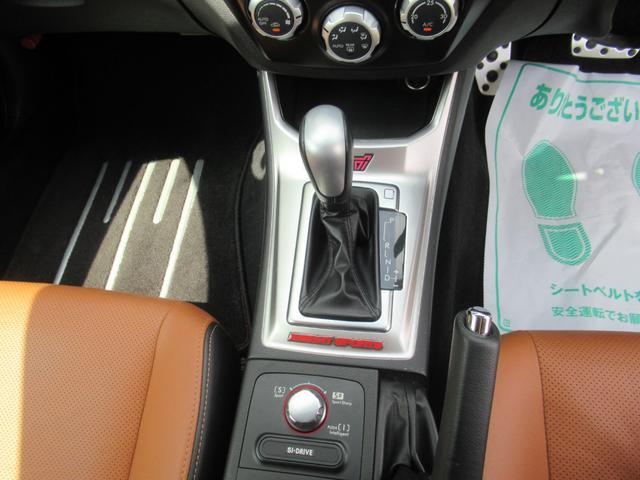 WRX STI Aライン サンルーフ ブラウンレザーシート フジツボマフラー HKS車高調 ワークエモーション19インチアルミ HID ターボ 4WD メモリーナビ フルセグ バックカメラ ドライブレコーダー(18枚目)