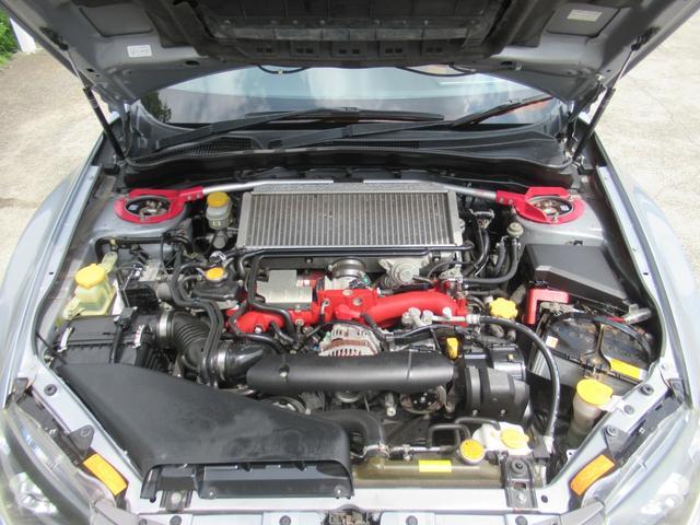 WRX STI Aライン サンルーフ ブラウンレザーシート フジツボマフラー HKS車高調 ワークエモーション19インチアルミ HID ターボ 4WD メモリーナビ フルセグ バックカメラ ドライブレコーダー(20枚目)