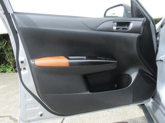 WRX STI Aライン サンルーフ ブラウンレザーシート フジツボマフラー HKS車高調 ワークエモーション19インチアルミ HID ターボ 4WD メモリーナビ フルセグ バックカメラ ドライブレコーダー(40枚目)