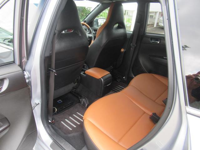 WRX STI Aライン サンルーフ ブラウンレザーシート フジツボマフラー HKS車高調 ワークエモーション19インチアルミ HID ターボ 4WD メモリーナビ フルセグ バックカメラ ドライブレコーダー(43枚目)