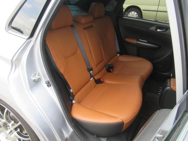 WRX STI Aライン サンルーフ ブラウンレザーシート フジツボマフラー HKS車高調 ワークエモーション19インチアルミ HID ターボ 4WD メモリーナビ フルセグ バックカメラ ドライブレコーダー(45枚目)