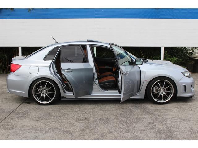 WRX STI Aライン サンルーフ ブラウンレザーシート フジツボマフラー HKS車高調 ワークエモーション19インチアルミ HID ターボ 4WD メモリーナビ フルセグ バックカメラ ドライブレコーダー(56枚目)