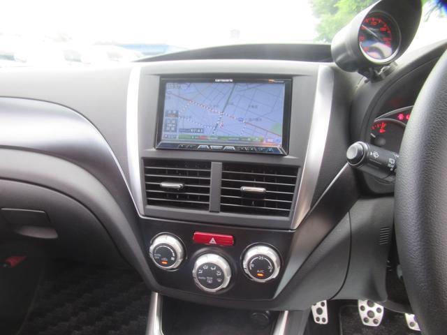WRX STi 純正オプションハーフレザーレカロシート BBS18インチアルミ HDDナビ フルセグ STiタワーバー スマートキー ETC HID SIドライブ ブースト計 油温計(16枚目)
