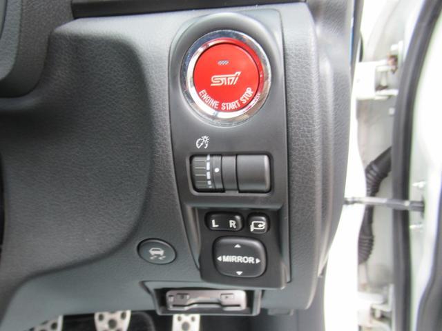 WRX STi 純正オプションハーフレザーレカロシート BBS18インチアルミ HDDナビ フルセグ STiタワーバー スマートキー ETC HID SIドライブ ブースト計 油温計(24枚目)