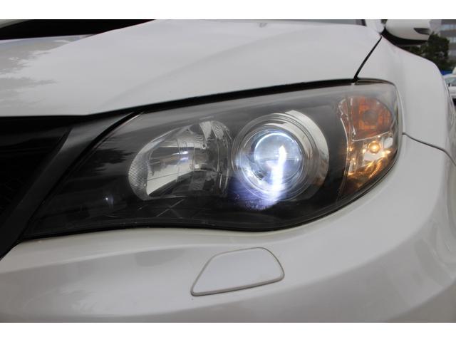 WRX STI tS カーボンルーフ アルミ製フロントフード 400台限定 RAYS18AW 純正レカロシート 社外メモリーナビ フルセグ DVD再生 Bluetooth接続 4WD 308馬力(21枚目)