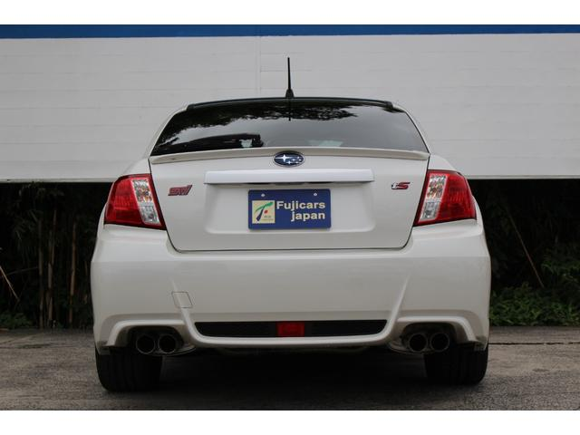 WRX STI tS カーボンルーフ アルミ製フロントフード 400台限定 RAYS18AW 純正レカロシート 社外メモリーナビ フルセグ DVD再生 Bluetooth接続 4WD 308馬力(32枚目)
