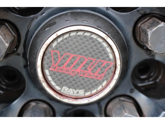 WRX STI tS カーボンルーフ アルミ製フロントフード 400台限定 RAYS18AW 純正レカロシート 社外メモリーナビ フルセグ DVD再生 Bluetooth接続 4WD 308馬力(37枚目)