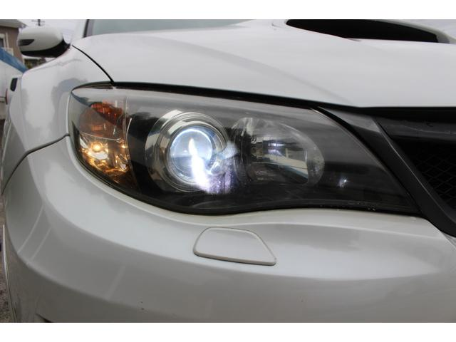 WRX STI tS カーボンルーフ アルミ製フロントフード 400台限定 RAYS18AW 純正レカロシート 社外メモリーナビ フルセグ DVD再生 Bluetooth接続 4WD 308馬力(43枚目)