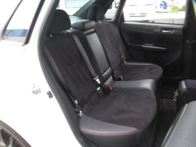 WRX STI tS カーボンルーフ アルミ製フロントフード 400台限定 RAYS18AW 純正レカロシート 社外メモリーナビ フルセグ DVD再生 Bluetooth接続 4WD 308馬力(66枚目)