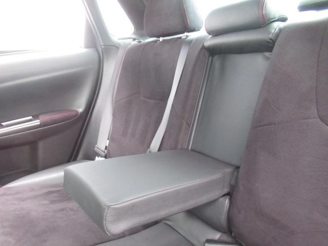WRX STI tS カーボンルーフ アルミ製フロントフード 400台限定 RAYS18AW 純正レカロシート 社外メモリーナビ フルセグ DVD再生 Bluetooth接続 4WD 308馬力(69枚目)