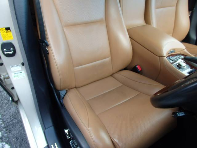 レクサス LS LS460L エグゼクティブパッケージ 本革 リヤエンター