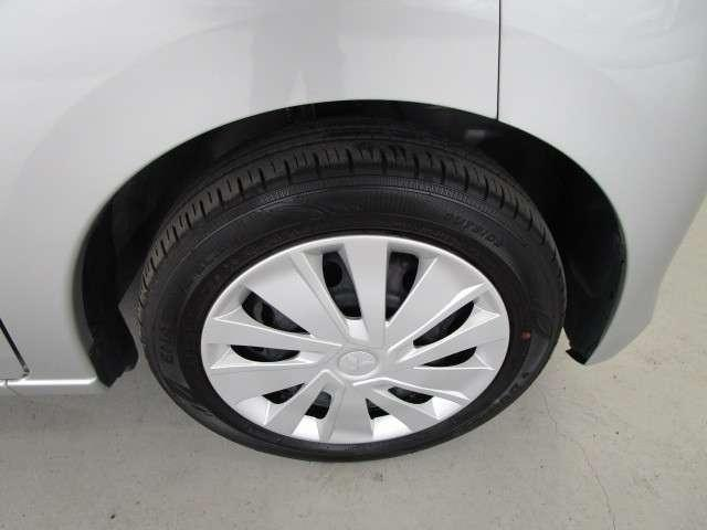 タイヤサイズ155/65R14インチです。
