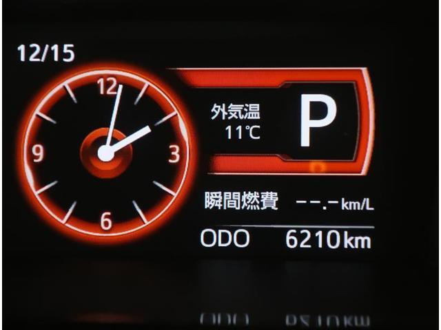 インパネ中央部に配置した液晶画面には、さまざまな運転情報を表示します☆