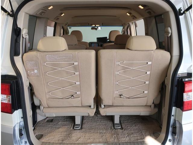 G プレミアム 4WD フルセグ HDDナビ DVD再生 バックカメラ ETC 両側電動スライド HIDヘッドライト 乗車定員8人 3列シート ワンオーナー 記録簿(16枚目)