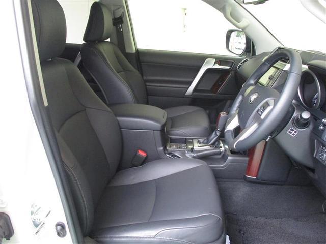 トヨタ ランドクルーザープラド TX Lパッケージ 本革シート メモリーナビ ETC