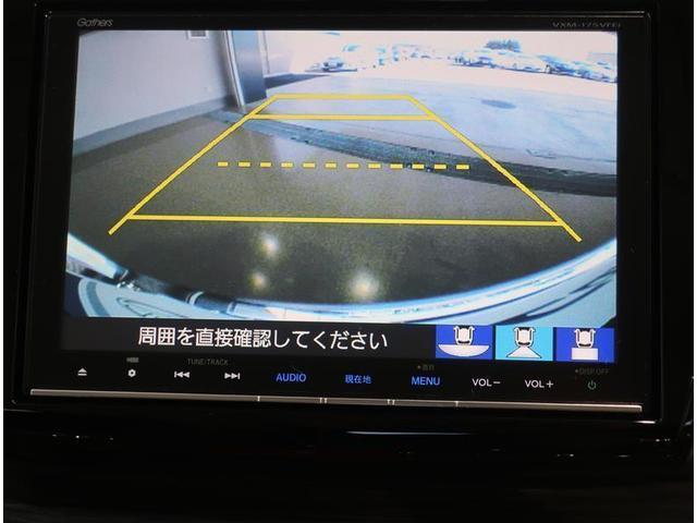 バックモニター付き。モニターにガイド線も表示されます。