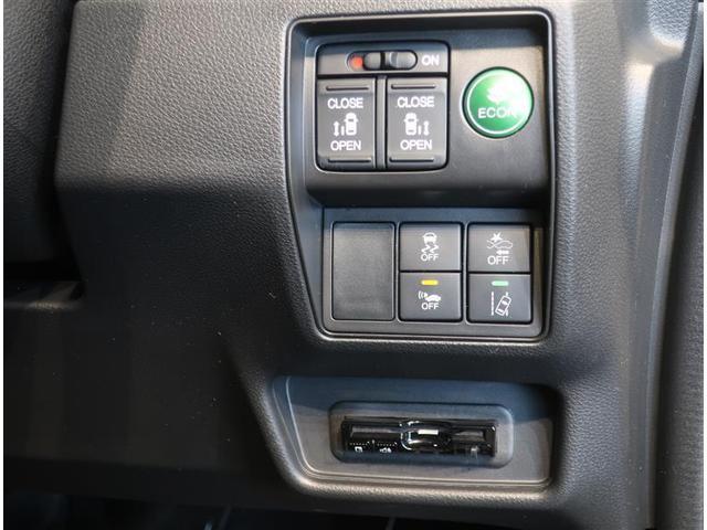 運転席からも操作できる両側パワースライドドア付きです。ETCもついています。