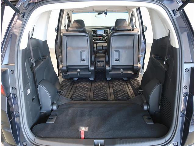 サードシートは床下収納でフラットに出来ます。