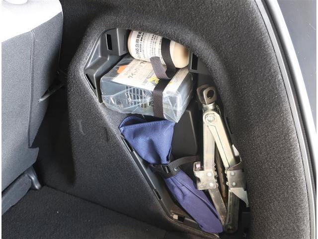 パンク修理キット搭載車です。
