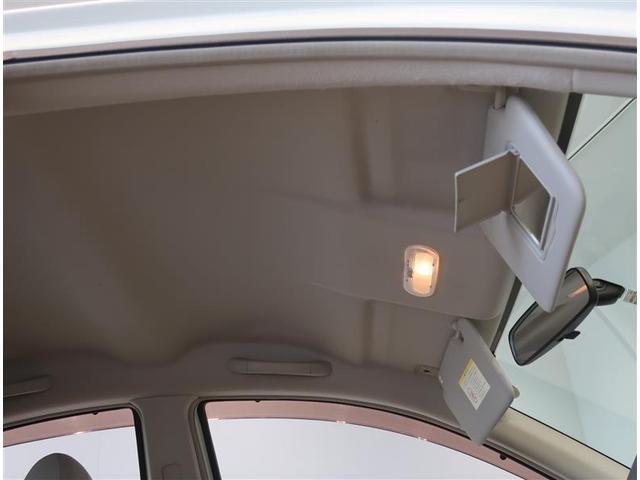 運転席サンバイザーには、バニティーミラー付いてます。