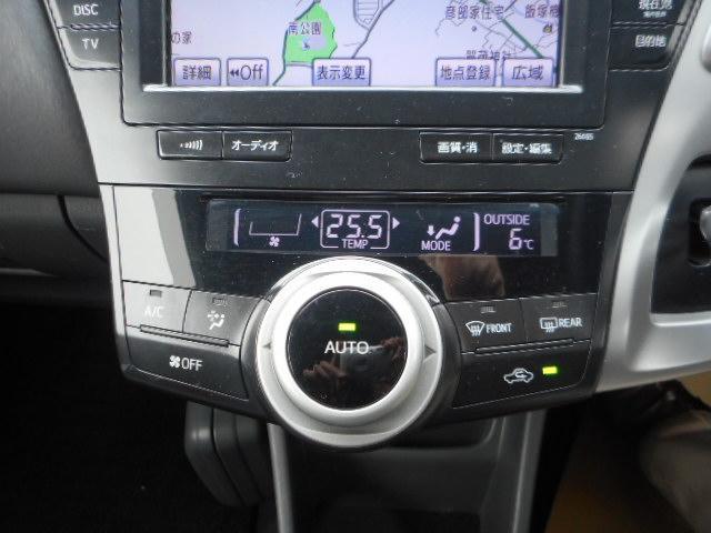 トヨタ プリウスアルファ Gツーリングセレクション HDDナビ・バックカメラ・ETC・