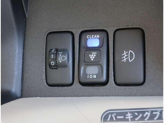 X HDDナビ ベンチシート フロントフォグ 空気清浄機付き(10枚目)