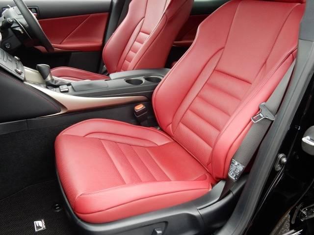 レクサス IS IS350 Fスポーツ  赤革シート メーカーナビ 禁煙