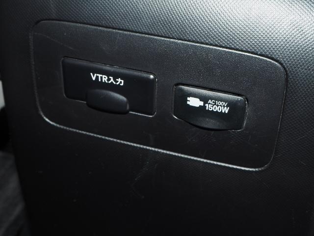 100V・1500Wアクセサリーコンセント付です。