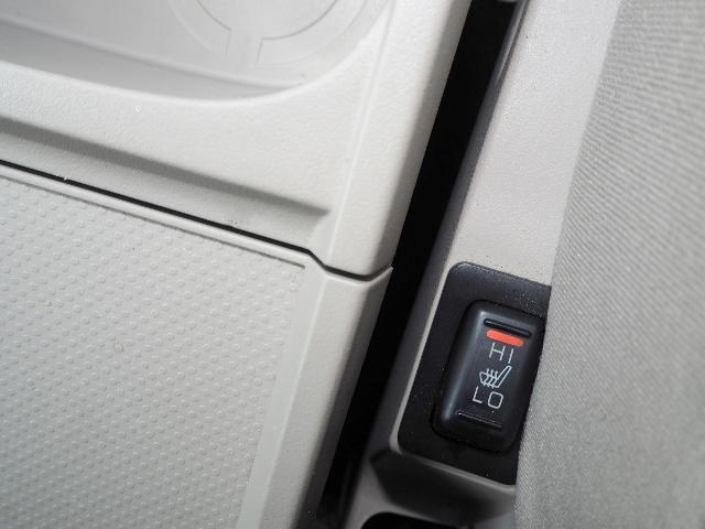 シートクッションとシートバックを素早く暖め、快適なドライブが楽しめます。
