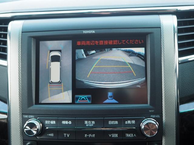 メーカーOP★車両を上から見たような映像をナビ画面に表示するパノラミックビューモニター。運転席からの目視だけでは見にくい、車両周辺の状況をリアルタイムでしっかり確認できます。OP価格約10万