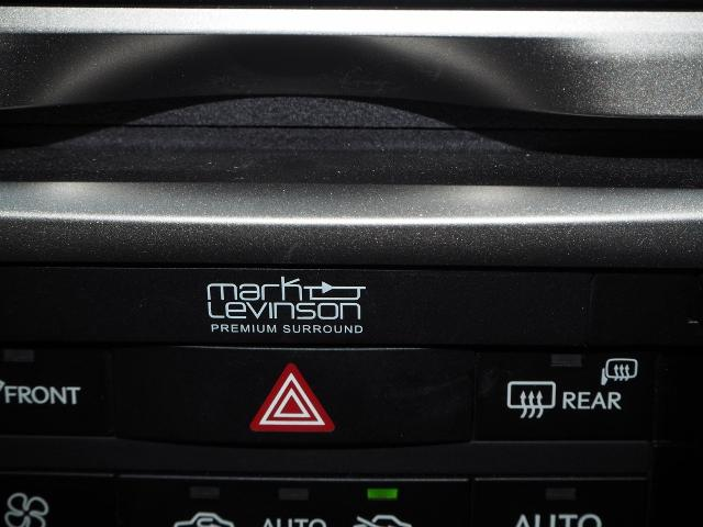 メーカーオプション★マークレビンソン(17スピーカー♪臨場感溢れるサウンドをお楽しみ頂けます。 OP価格約27万