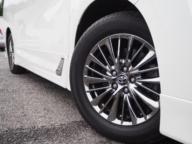 3.5エグゼクティブラウンジ 4WD ワンオーナー禁煙車 OP・ツインサンルーフ OP・TRDエアロ OP・寒冷地仕様車 セーフティセンス JBL メーカーナビ リヤエンタメ 全周囲 Pバックドア Dインナーミラー 本革シート(18枚目)