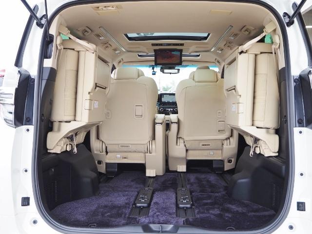 3.5エグゼクティブラウンジ 4WD ワンオーナー禁煙車 OP・ツインサンルーフ OP・TRDエアロ OP・寒冷地仕様車 セーフティセンス JBL メーカーナビ リヤエンタメ 全周囲 Pバックドア Dインナーミラー 本革シート(33枚目)
