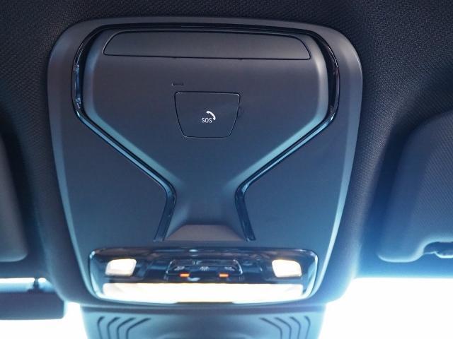 事故の緊急時には、自動でSOSを発信する。BMW SOSコール
