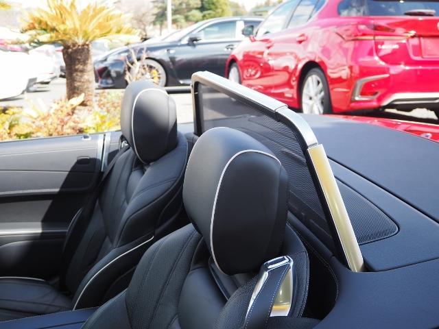 SL400 走行1.2万キロ ワンオーナー禁煙車 レーダーセーフティパッケージ パノラミックバリオルーフ AMG製19AW ブラックナッパレザー 電動ドラフトストップ オートトランクカバー HDDナビBカメラ(22枚目)