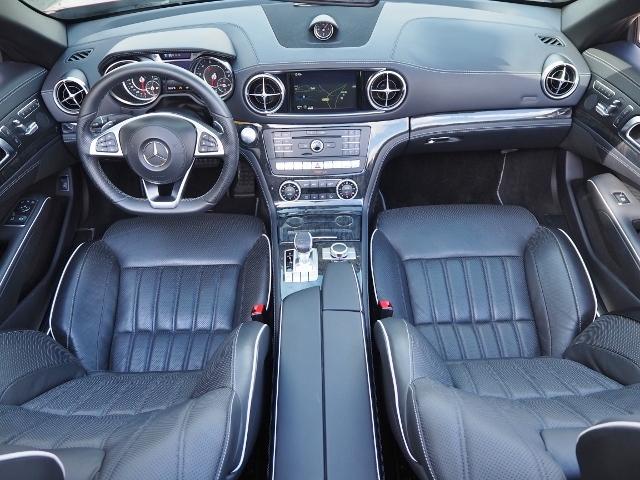 SL400 走行1.2万キロ ワンオーナー禁煙車 レーダーセーフティパッケージ パノラミックバリオルーフ AMG製19AW ブラックナッパレザー 電動ドラフトストップ オートトランクカバー HDDナビBカメラ(23枚目)